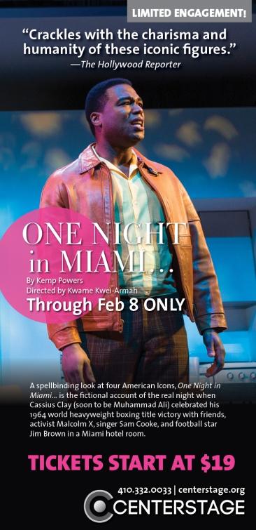 """""""One Night in Miami..."""" Baltimore Sun Ad"""
