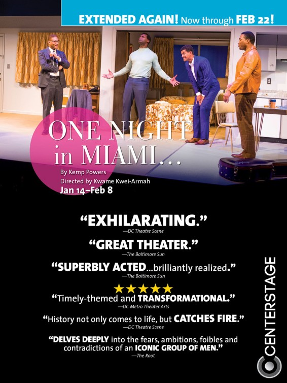 """""""One Night in Miami..."""" Poster"""
