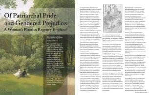 Pride and Prejudice Program Spread