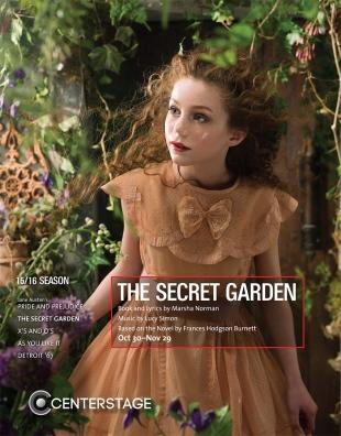 The Secret Garden Program Cover