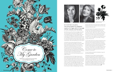 The Secret Garden Program Spread