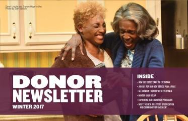 2017 Donor Newsletter Cover