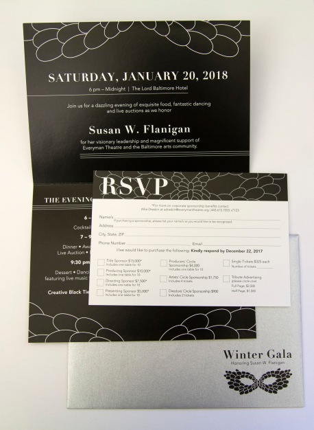 Invitation and RSVP Card