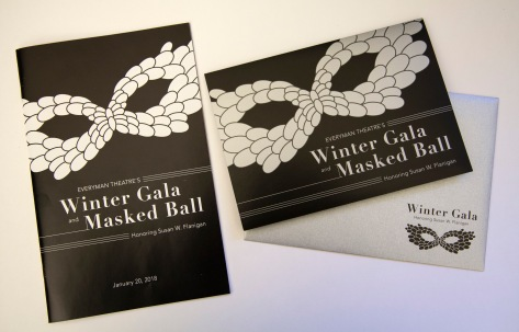Gala Program and Invitation